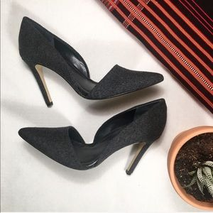 Banana Republic Adelia D'Orsay Wool Pumps